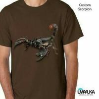 Kaos 3D Umakuka - Scorpion