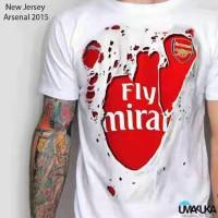 Kaos 3D New Arsenal Jersey
