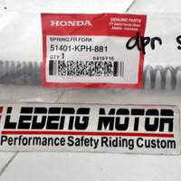 Per Shock Depan Karisma Revo Supra-x 125 Fit-new Ahm Honda Original