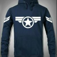 T-SHIRT/SWEATER/JAKET/HOODIE JUMPER CAPTAIN AMERICA STAR HERO.