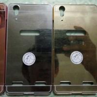 bumper miror + back case lenovo a6000/a6000+