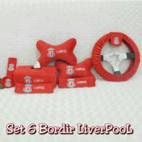 Bantal Mobil 6 in 1 LIVERPOOL The Reds