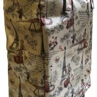 foldable shopping,BELANJA roda,trolley bag/Tas troli lipat ,TOTE GOLD