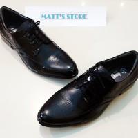 Big Size (Ukuran Besar) Sepatu Pantofel Pria (8006) - 45 s/d 46 - Hitam, 45
