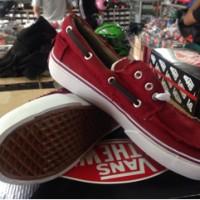 Sepatu Vans Zapato Red Maroon