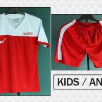 Kostum Anak Nike T90 Jr 4 (setelan,seragam,baju,jersey futsal/bola)