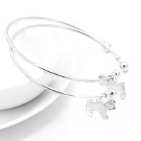 gelang bandul anak anjing / shiny new puppy Bracelet JGE011