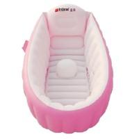 Intime Baby Bath Tub/ Bak Mandi Bayi Warna Pink
