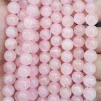 Batu Natural Rose Quartz 6mm / Bahan Gelang Kalung Aksesoris Handmade