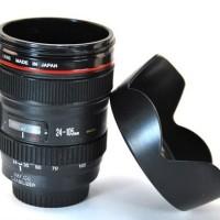 Gelas Lensa Kamera Hood Lid Cn Mug Lens Cup
