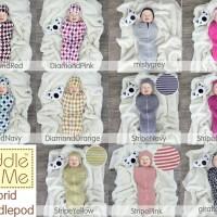 CuddleMe | Cuddle Me Hybrid Swaddlepod | Bedong Instan | Bedong+topi