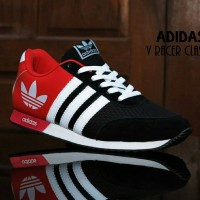 Sepatu Sport Adidas V Racer / Casual / joging / olahraga cowok