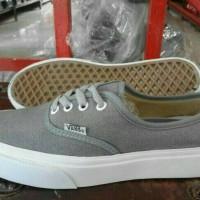 sepatu Vans authentic mono grey grade original