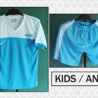Kostum Anak Nike T90 Jr 1 (setelan,seragam,baju,jersey futsal/bola)