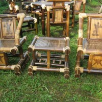 Meja Kursi tamu - bambu