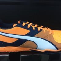 sepatu futsal puma invicto sala orange 2016 new model original 100%