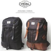 Tas Ransel Laptop Backpack Visval Bara Gendong Punggung Rucksack Murah