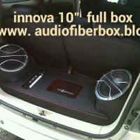 audio custom box innova full set