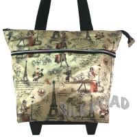 Foldable Shopping,Belanja,Roda,Trolley Bag/Tas TOTE Troli Lipat PariS