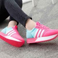 Sepatu Replika ADIDAS - Sneakers - Pink Fanta