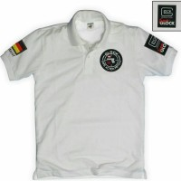 Polo shirt/Kaos kerah GLOCK GUN GERMAN TEAM