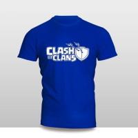 Kaos Baju Pakaian GAME COC LOGO FONT Murah