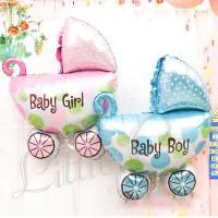 Baby Stroller MINI Balloon Foil (Balon Botol Bayi / Baby Shower / Born