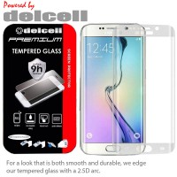 AntiGores Delcell Full Curved Tempered Glass Samsung Galaxy S7 Edge