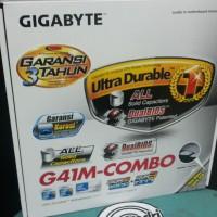 Gigabyte GA-G41M-Combo intel Socket LGA 775 DDR2 &DDR3 READY STOK!