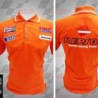 Polo Shirt MotoGP Honda Repsol Orange (baju)