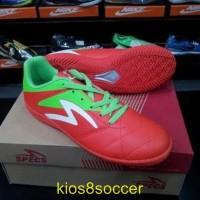 Sepatu Futsal Specs Barricada Gurkha Orange Green