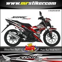 stiker striping motor all new sonic 150 cc