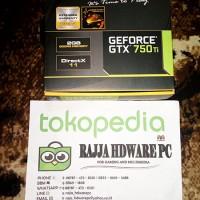 Vga Card Zotac Nvidia Geforce GTX 750 Ti 2GB DDR5 OC