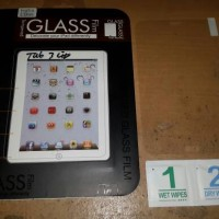 tempered glass / anti gores samsung tab 3V / tab 3 lite T110/T111/T1