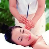 Ear candle lurus plug pembersih telinga theraphy aroma terapi salon