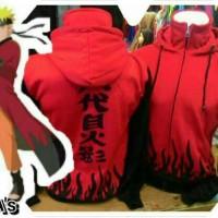 Jaket Naruto Anak Yondaime Merah