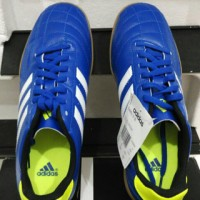 Sepatu Futsal Original Adidas Goletto IV IN - Blue/Runwhite/Bluegreen