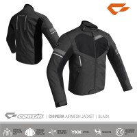Jaket Motor Touring Waterproof Anti Air Hujan Contin Chimera Ori