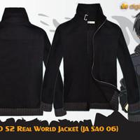 Kirito SAO S2 Cosplay Jacket (Jaket Anime Sword Art Online JA SAO 06)