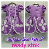 KOSTUM/DRESS/BAJU SOFIA THE FIRST