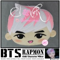 Chibi Pillow KPOP - BTS RAPMON [ STANDAR ]