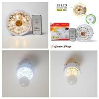 Aoki Xrb Lampu Emergency Fitting 35 Led - Light Warm & Putih