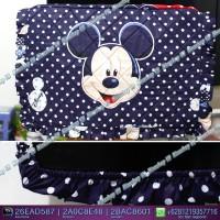 Cover TV,bando TV,Tutup TV LED/LCD motif Mickey Biru Doty