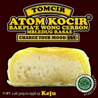 Tomcir (Atom Cirebon,Bapia Cirebon) rasa keju