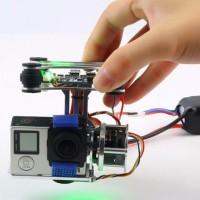 Super Light Dji Phantom Gopro 3 4 Cnc Brushless Motor Camera Gimbal