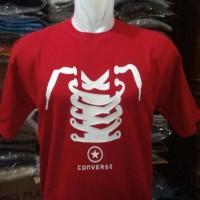 kaos CONVERS(merah)/tshirt convers/kaos/baju murah
