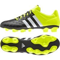 sepatu sepak bola / soccer adidas ace 15.4 fg hitam hijau original