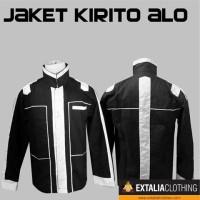 JAKET KIRITO ALO SWORD ART ONLINE JACKET ANIME COSPLAY