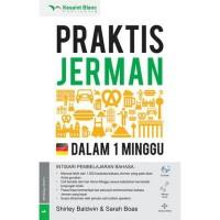 BUKU BAHASA JERMAN  PRAKTIS JERMAN DALAM 1 MINGGU + CD AUDIO