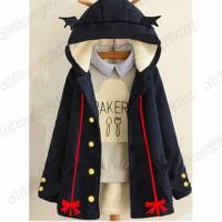 Owari no Seraph Krul Tepes Jacket Jaket Anime Kostum Cosplay